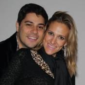 Mulher de Evaristo Costa, Amália Stringhini tem alta do hospital: 'Muito feliz'