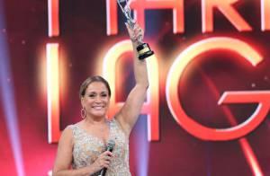 Susana Vieira recebe o Troféu Mário Lago no 'Domingão': 'Me sinto orgulhosa'