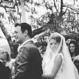 Um registro da noiva Sophie Charlotte feito por Aline Weber