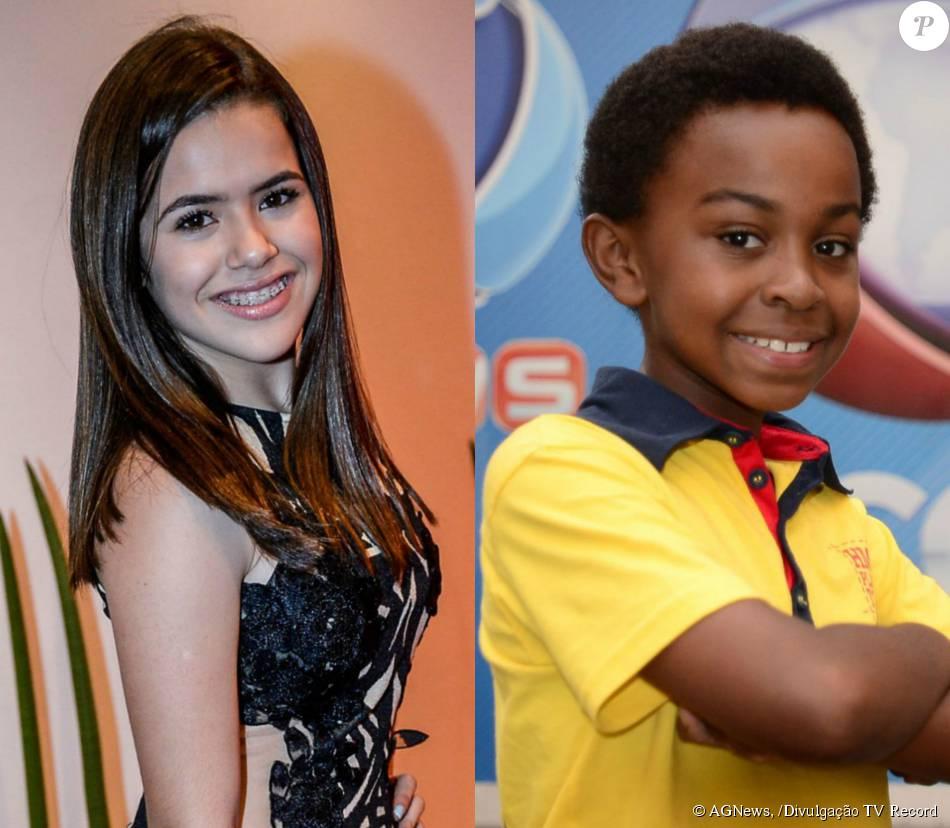 Maisa Silva e Jean Paulo Campos foram confirmados no elenco da novela 'Carinha de Anjo', do SBT, diz a coluna 'Outro Canal', do jornal 'Folha de S.Paulo', nesta segunda-feira, 7 de dezembro de 2015