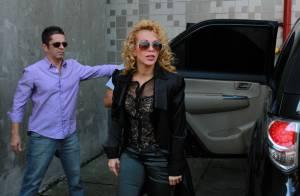 Ximbinha quer impedir Joelma de ser a única a usar músicas gravadas pela Calypso
