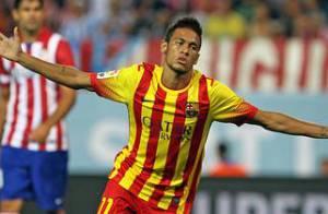 Neymar lamenta não ter jogado com Messi na partida em que marcou seu 1° gol
