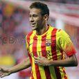Neymar lamentou não ter jogado ao lado de Messi na partida desta quarta contra o Atlético de Madri