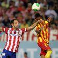 Neymar saiu do banco e marcou o gol de empate do Barcelona