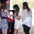 Após a morte de Cory Monteith, Lea Michele está recebendo bastante apoio de suas amigas