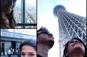 Michel Teló e Thais Fersoza curtem viagem ao Japão em clima de romance