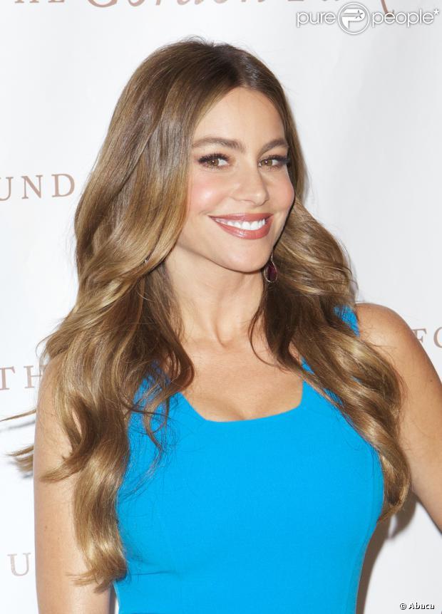 Sofia Vergara é a atriz mais bem paga da TV americana pelo segundo ano consecutivo, em 5 de setembro de 2013