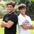 Felipe Simas vai contracenar com o irmão Bruno Gissoni em 'Flor do Caribe'