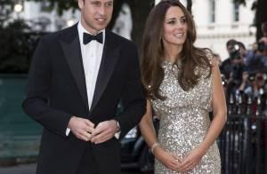 Magra, Kate Middleton aparece com vestido brilhoso em jantar de gala em Londres