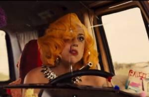 Lady Gaga surge em cena de perseguição no primeiro trailer de 'Machete Kills'