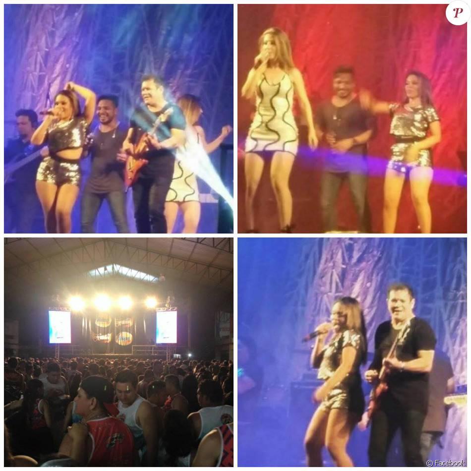 Ximbinha fez o primeiro show da banda XCalypso com a nova vocalista do grupo, Carla Maués, na cidade de Cametá, no Pará, na madrugada desta terça-feira, 9 de fevereiro de 2016
