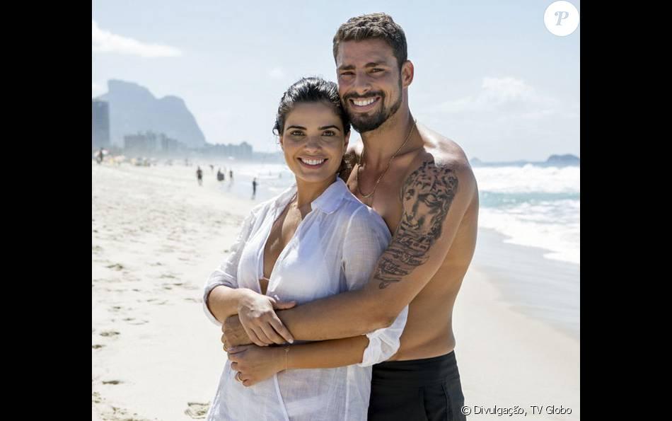 Tóia (Vanessa Giácomo) é sequestrada por Romero (Alexandre Nero) durante sua lua de mel com Juliano (Cauã Reymond), na novela 'A Regra do Jogo', em 15 de fevereiro de 2016