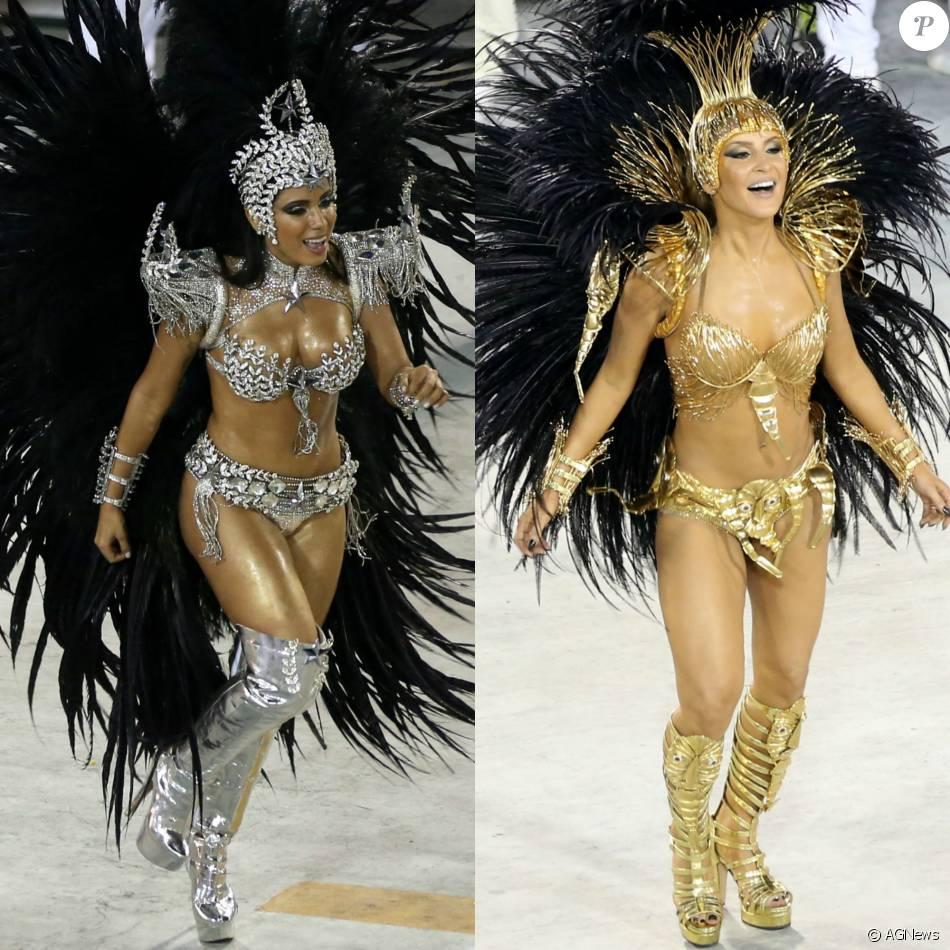 Claudia Leitte não será mais rainha de bateria da Mocidade no Carnaval 2017 e deverá ser substituída por Anitta, diz a coluna 'Retratos da Vida', do jornal 'Extra', nesta quinta-feira, 11 de fevereiro de 2016