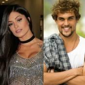 Aline Riscado está namorando Felipe Roque, o Kim da novela 'A Regra do Jogo'