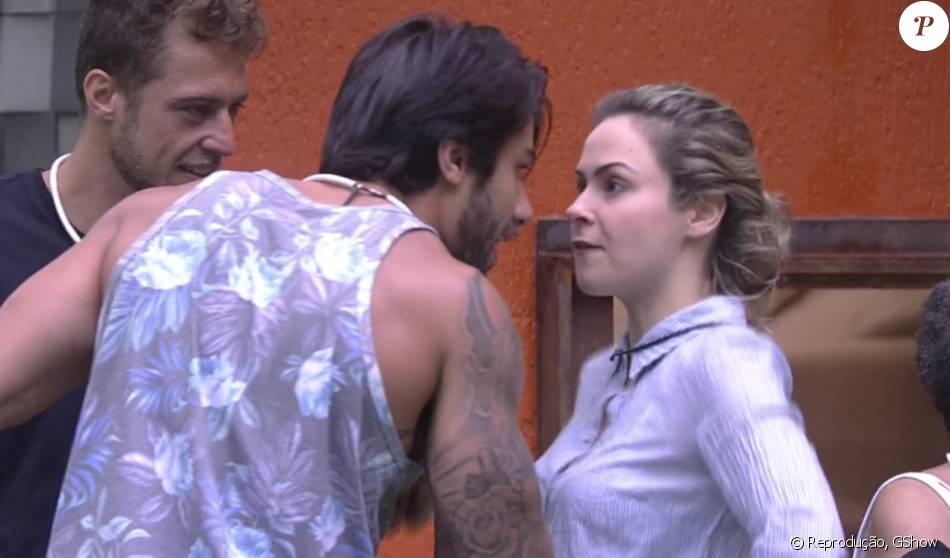 'BBB16': Ana Paula e Renan discutiram assim que a sister voltou para a casa, nesta quinta-feira, 11 de fevereiro de 2016. 'Você é chata. Você é uma patricinha, insuportável', disparou o brother