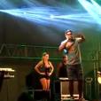 Naldo xingou o público ao ser vaiado por atraso durante show em Lambari, Minas Gerais