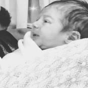 Veja 1ª foto de Bento, filho de Fernanda Rodrigues! 'Coisa mais linda'