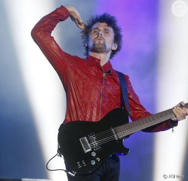 Banda britânica Muse agita o Palco Mundo no segundo dia de Rock in Rio