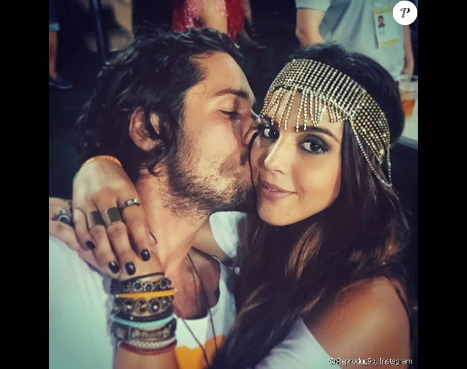 Giovanna Lancellotti posa com o namorado, Gian Luca Ewbank, pela 1ª vez. 'Lindos'