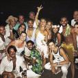 Giovanna Lancellotti e o namorado, Gian Luca Ewbank, também estiveram juntos em Fernando de Noronha no início de 2016