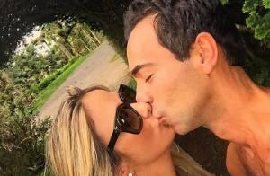 Ticiane Pinheiro curte final de semana romântico com Cesar Tralli: 'Viva a vida'