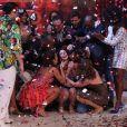 Emocionada, Carol Castro vibra com a vitória do 'Dança dos Famosos'