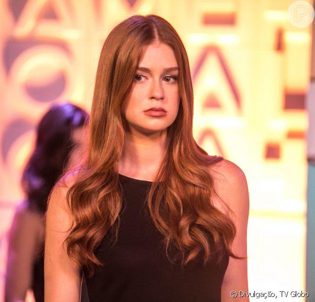Eliza (Marina Ruy Barbosa) vai aderir à franja e posar nua nos próximos capítulos da novela 'Totalmente Demais', adianta o colunista de TV Daniel Castro nesta segunda-feira, 15 de fevereiro de 2016