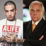 MC Guimê detona Marcelo Rezende na televisão e ameaça: 'Vamos sair na mão'