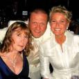 Xuxa publicou foto ao lado da mãe, Alda, e do irmão, Blad, para agradecer às mensagens de apoio e reforçar os pedidos de oração