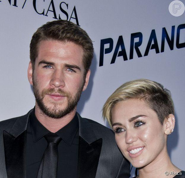 Miley Cyrus e Liam Hemsworth não estão mais juntos, em 16 de setembro de 2013