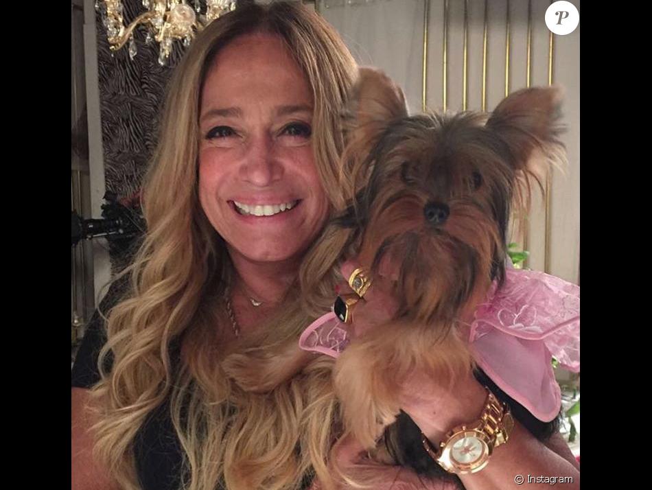 Susana Vieira ganhou a cachorrinha que contracena na novela 'A Regra do Jogo', uma Yorkshire chamada Susi