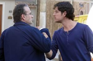 'Sangue Bom': Bento (Marco Pigossi) e Wilson descobrem que são pai e filho
