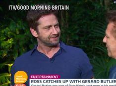 Gerard Butler simula soco no rosto de jornalista em programa de TV