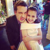 Rodrigo Andrade grava 'Amor à Vida' e brinca com Klara Castanho: 'Doidinha'