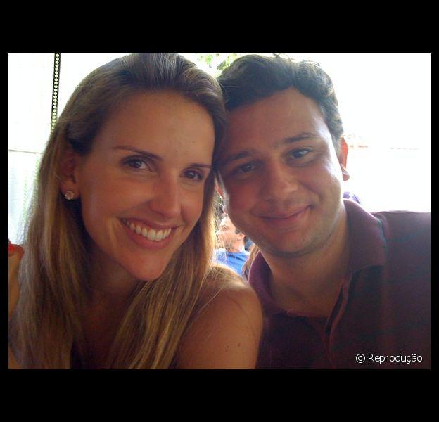 Mariana Ferrão e André Luiz Costa estão radiantes com a chegada de Miguel. 'A gente já perdeu as contas de quantas vezes choramos de alegria por ter você aqui', escreveu a apresentadora em seu Instagram nesta segunda-feira, 30 de setembro de 2013