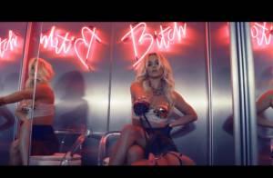 Britney Spears exibe corpo em forma em seu novo clipe, 'Work Bitch'