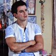 Carlito (Anderson di Rizzi) fica arrasado quando Valdirene (Tatá Werneck) se muda para a casa de Ignácio (Carlos Machado) levando sua filha, em 'Amor à Vida'