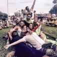Mauricio Destri e caroline Abras curtiram o carnaval 2016 juntos