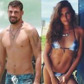 Cauã Reymond e a namorada, Mariana Goldfarb, viajam para praia na África do Sul