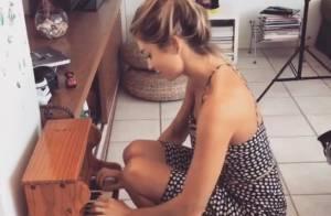Grazi Massafera brinca tocando piano infantil e fãs elogiam: 'Figura'. Vídeo!