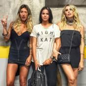 Bruna Marquezine curte show de Coldplay com Gabriela Pugliesi e Julia Faria