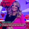 Ticiane Pinheiro disse que ainda tem dificuldade de se desgrudar de Rafaella