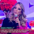 Ticiane Pinheiro esteve no 'Programa da Sabrina' e falou sobre a relação com o ex-marido Roberto Justus, a filha, Rafaella, de 6 anos, e a madrasta, Ana Paula Seibert