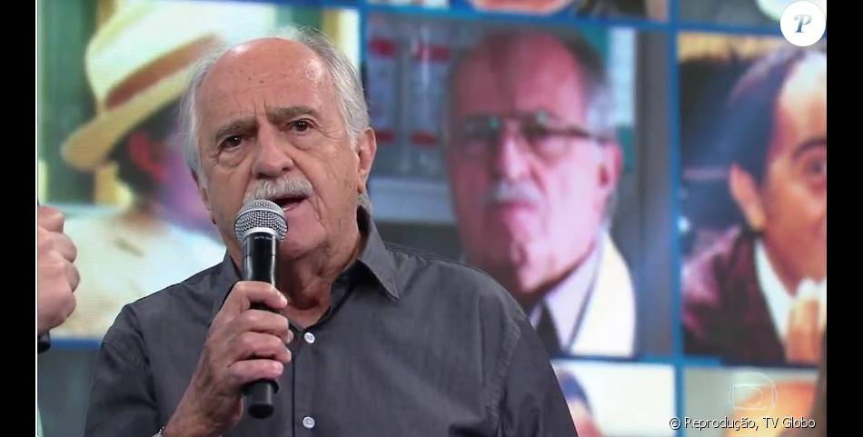 Ary Fontoura ataca a presidente Dilma Rousseff no 'Domingão do Faustão', em 10 de abril de 2016