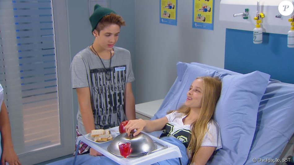 8ae0996f267a2 Joaquim (João Guilherme) ajuda Priscila a voltar a se alimentar após ser  diagnosticada com