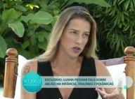Luana Piovani recorda ter sido vítima de abuso sexual quando criança: 'Tocada'