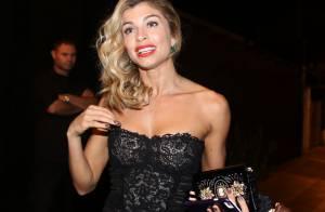 Grazi Massafera mostra boa forma com vestido tomara que caia Dolce & Gabbana