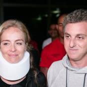 Piloto recebe dinheiro de Luciano Huck após acidente: 'Tão vítima quanto eu'