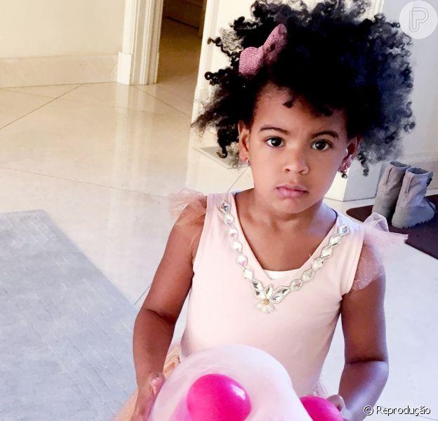 Beyoncé divulga fotos da festa de aniversário de 4 anos da filha, Blue Ivy