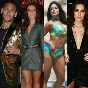 Neymar elege mulheres mais bonitas:Paolla Oliveira, Aline Riscado e Thaila Ayala